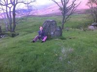 One of the Tirai standing stones