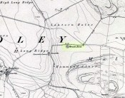 Druids Altar on 1852 map