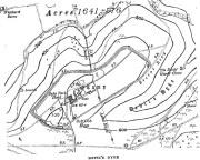 Map of Devil's Dyke