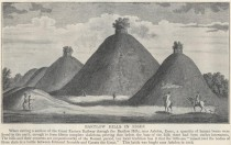 18th century drawing of the hills
