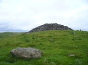 Fiscary 2 cairn, looking NW